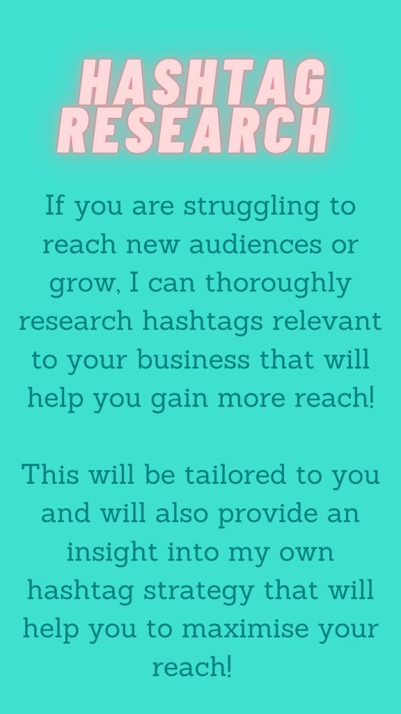 eDesign Marketing Social Media Management Hashtag Research