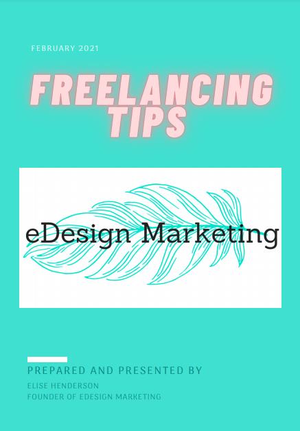 eBook Resources eDesign Marketing Freelancing Tips
