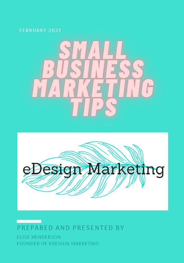eBook Resources eDesign Marketing Small Business Marketing Tips