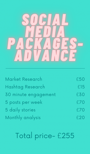 Social Media Packaged Services
